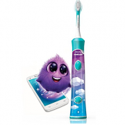 飞利浦(PHILIPS)  HX6322/04 蓝牙版 声波震动儿童牙刷 刷头×2