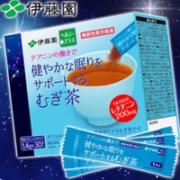 ITOEN 伊藤园 安神助眠 天然安全 矿物质 麦茶粉 1.4g*30条