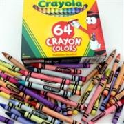 Crayola绘儿乐 彩色蜡笔 64支*2盒装