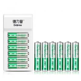 德力普 Delipow 充电电池套装 5号/7号镍氢电池各6节24.8元包邮平常34.8元