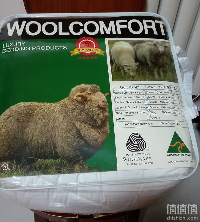 WOOLCOMFORT羊毛被