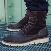 Timberland  添柏岚 男士westmore 8孔系带短靴 Prime会员免费直邮