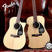 Fender 芬德  Classic Design系列 0961545021 CD-60 民谣吉他 原木色