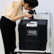 DEEP 德普 LED 柔光摄影灯箱开箱