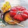 Staub 25CM番茄形珐琅铸铁锅开箱