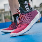 Adidas 阿迪达斯 Harden Vol 2 篮球鞋上手与实战测试