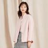 网易严选 女士气质短款羊毛呢大衣 两色¥399包邮