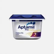 爱他美(Aptamil)    白金版 2段 婴幼儿奶粉 800g *6件