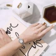 Ashford:Seiko 精工 Tressia Misty Copeland系列 SUP327 镶钻太阳能女表(限量款) $149