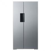 SIEMENS 西门子 610升 变频风冷无霜 对开门冰箱 旋转制冰盒(不锈钢色)BCD-610W(KA92NV41TI)