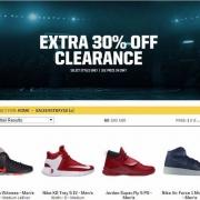 Eastbay清仓区精选Nike、Jordan、adidas、Under Armour、New Balance、puma等