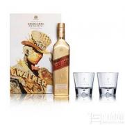 JOHNNIE WALKER 尊尼获加 金牌珍藏调配苏格兰威士忌 750ml 限量版礼盒