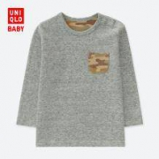 UNIQLO 优衣库 407699 婴儿长袖圆领T恤