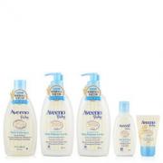 Aveeno 艾维诺 婴儿每日倍护润肤乳(354ml*2+30ml)+二合一沐浴液(354ml+100ml)