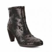 6PM:ECCO 爱步 型塑Shape 55 女士真皮短靴 4折$68