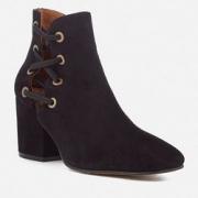 HUDSON LONDON 女士麂皮踝靴