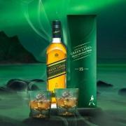 天猫商城:JOHNNIE WALKER 尊尼获加 绿牌 15年调配麦芽苏格兰威士忌 750ml