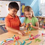 "Learning Resources ""海洋""和几何构建组合 抽插式拼接玩具"
