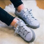 Puma彪马经典款 Basket 漆皮厚底女士休闲鞋 两色