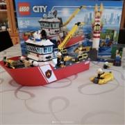 LEGO 乐高 City城市系列 60109 消防船