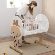 babysing 多功能实木婴儿床 2款¥888