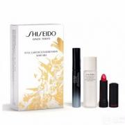 Shiseido 资生堂 全方位三件套装(睫毛膏8ml+口红2.5g+卸妆液30ml)£20.3凑单免费直邮到手¥180