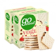 英国人每年吃掉2亿盒 Go Ahead 水果酸奶饼干 178g*2盒 好吃不怕胖22.5元包邮平常47元限前15分钟
