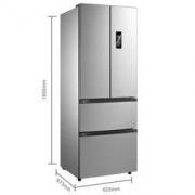 Midea 美的 BCD-318WTPZM(E) 318升 无霜多门冰箱2999元包邮