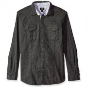 Lee 男式长袖弹力针织衬衫