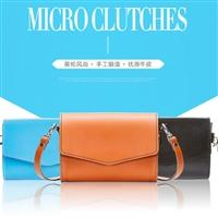 Zatchels 微型真皮信封包/单肩斜挎包   多色可选