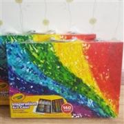BUG啦!3套包邮0税!Crayola 绘儿乐 创意展现艺术珍藏礼盒140件套(版本随机发货)