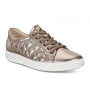 ECCO 爱步 Soft 7 柔酷7号 女士牛皮菱格休闲鞋 $72 国内¥1799