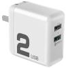 ROCK 洛克 QC3.0 双口快充充电器