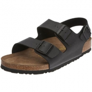 Birkenstock Milano 软木鞋底凉鞋开箱上脚