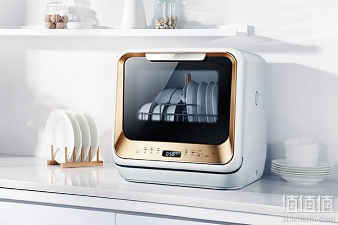 Midea 美的 M1 台上式4套洗碗机开箱体验