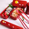 阿司倍鹭(ASVEL)  双层日式月兔饭盒 620ml 送收缩袋+餐具4件套¥55