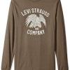 Levi's 李维斯 Forte 男士长袖印花T恤$9.80(折¥62.72) 3.1折