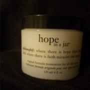 Philisophy 自然哲理 hope in a jar 希望面霜120ml 老包装