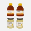 Waitrose 纯清澈蜂蜜 454g*2瓶 + 纯结晶蜂蜜 454g*2瓶¥145包邮包税