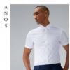 ANOS夏季男士白衬衫短袖78元(券后)