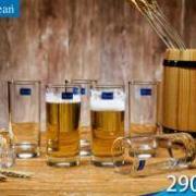 Ocean 进口无铅玻璃啤酒杯酒吧6个装19.8元包邮(券后)
