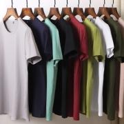 GUEVCO 男士 莱卡棉 纯色短袖T恤¥16