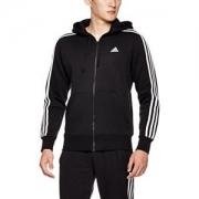 adidas 阿迪达斯 男式 运动型格 针织夹克 ESS 3S FZ B155.4元