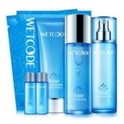 WETCODE 水密码 清新水润护肤礼盒(洗面奶+水+乳液+面膜)  *2件