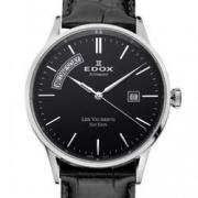 EDOX 依度 Les Vauberts系列 83007-3-NIN 男款机械表