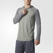 adidas 阿迪达斯 Called Up Hooded 男士长袖T恤$13.30(折¥85.12)
