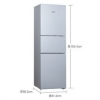 SIEMENS 西门子 KG28UA290C 274升 混冷无霜 零度保鲜 三循环制冷冰箱3499元包邮(需用券)