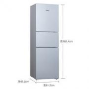 SIEMENS 西门子 KG28UA290C 274升 混冷无霜 零度保鲜 三循环制冷冰箱