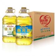金龙鱼 阳光葵花籽油 3.618L + 玉米油 3.618L