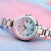 卡西欧(CASIO)     SHEEN系列 SHE-4516SBD 女士太阳能时装腕表
